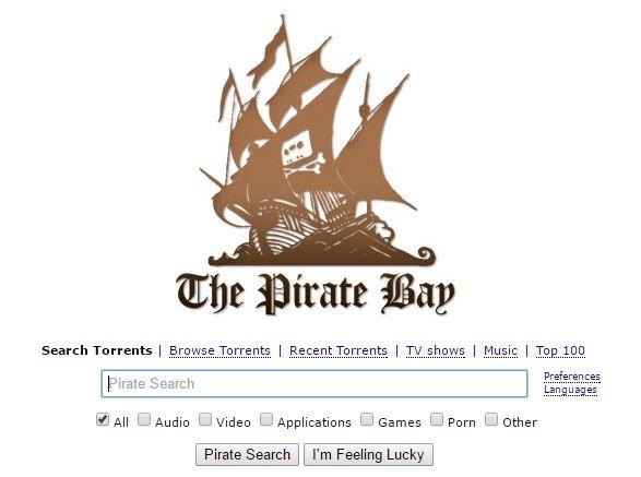 Pirate Bay mogelijk op zwart