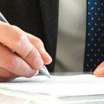 Advocaat handtekening schikking