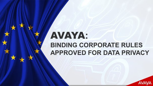 Avaya versterkt de bescherming van persoonsgegevens met certificering
